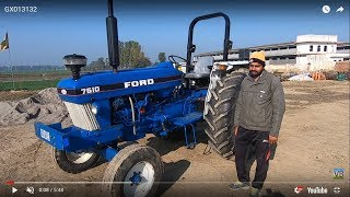 Ford 7610 tractor model 1983 for sale with full feature & specificaion