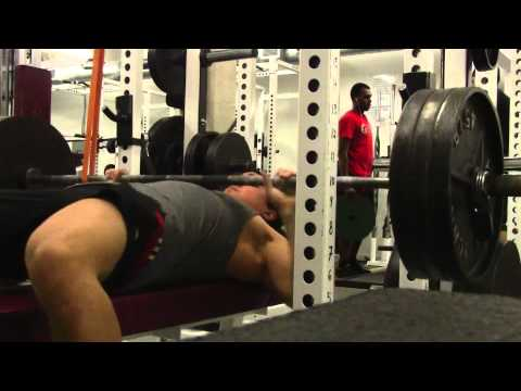 EPIC Training FAIL- 315 Benchpress Disaster Image 1