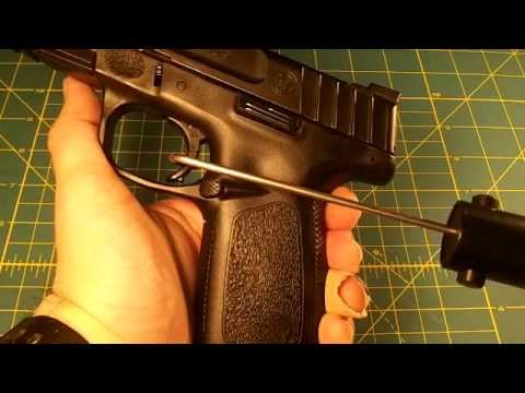 S&W SD9 trigger pull