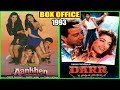 Aankhen 1993 vs Darr 1993 Movie Budget, Box Office Collection, Verdict and Facts