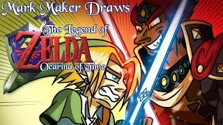 "Mark Maker Draws: ""The Legend of Zelda: Ocarina of Time"""