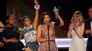 SAG Awards acceptance speeches turn political