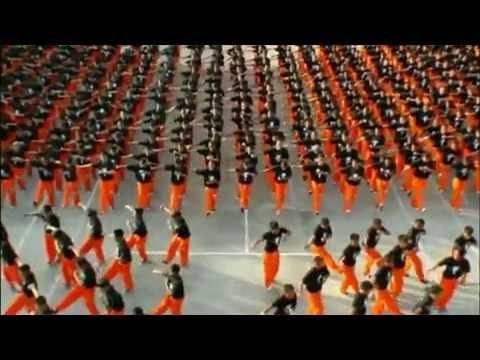 1500 Mahkum 1 Michael Jackson (Mahkumlardan Süper Dans)