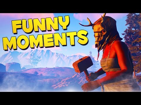 BEST ROLEPLAYERS! - Rust Funny Moments!