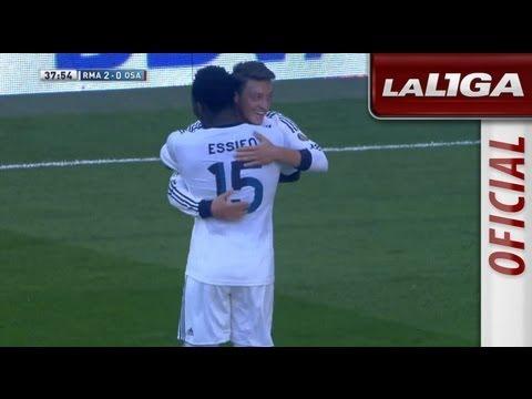 Gol de Essien (2-0) en el Real Madrid - Osasuna - HD