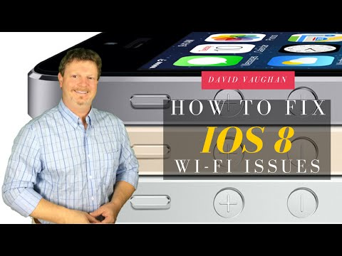 How To Fix iOS WiFi Network Connection problems