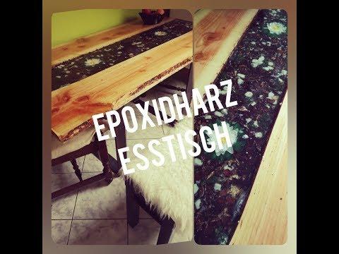 Epoxidharz Tisch/DIY/Epoxy Table/Ob das was wird?
