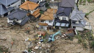 38 người chết, 47 người mất tích vì mưa lớn ở Nhật