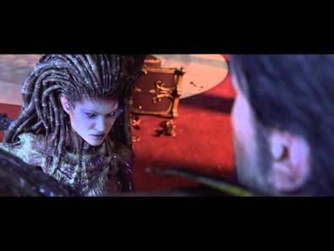 Starcraft 2 Heart of The Swarm Cutscenes Part 2/2