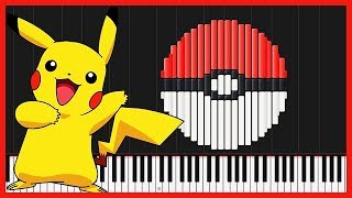 Pokémon Medley [Piano Tutorial] (Synthesia) // Animenz
