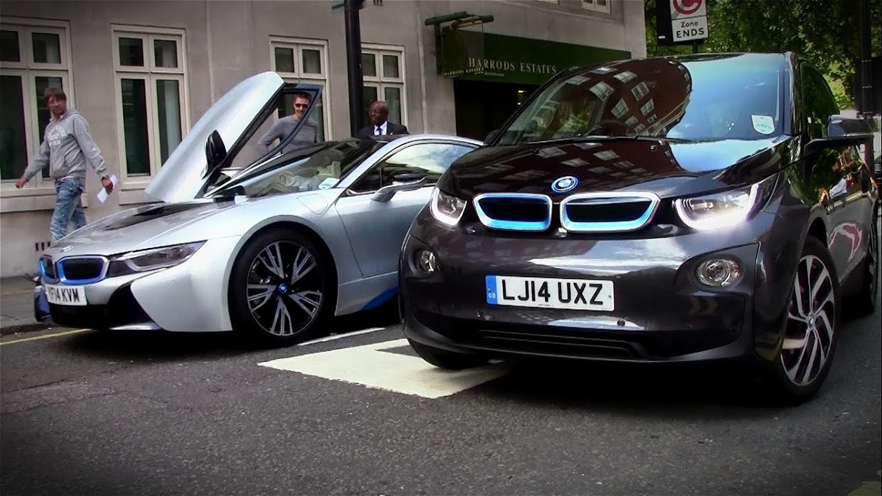 Bmw i8 Bmw i3 Bmw i8 on The Road With i3