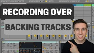 How To Record Over A Backing Track