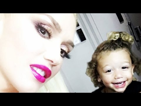 Gwen Stefani's Son Apollo Is Insanely Adorable Singing and Drumming on Snapchat!