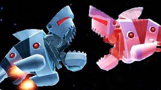 Hungry Shark Evolution - Robo Shark vs Enemy Robo Shark