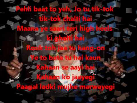 High Heels-yo Yo Honey Singh Lyrics.wmv video