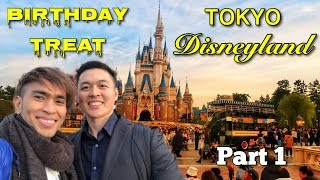 Birthday Treat at Tokyo Disneyland - Part 1