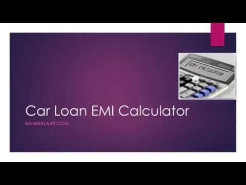 Car Loan EMI Calculator