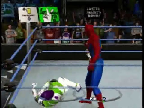 NGCCW Season 1:1 Spider-Man VS Buzz Lightyear.
