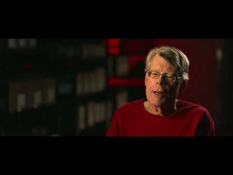 IT - Stephen King talks about his viewing of the new IT adaption. [720p HD]