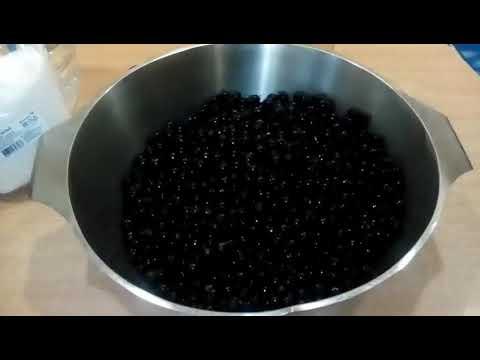 Желе из чёрной (красной) смородины на зиму