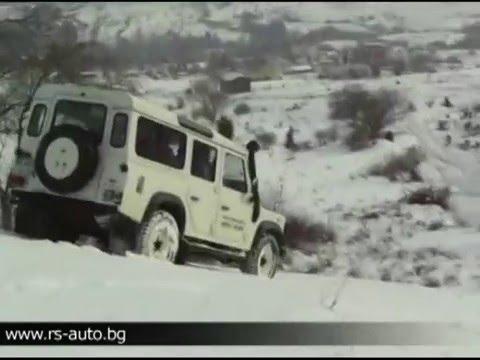 Тест на Land Rover Defender 110
