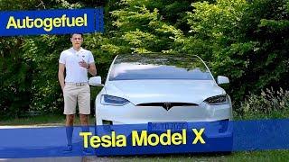 Tesla Model X REVIEW 100D - Autogefuel