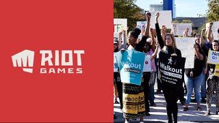 League Of Legends / Riot Games Employees Walk Out     #RiotWalkout