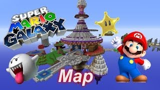 Minecraft Super Mario Galaxy Map (Free Download)