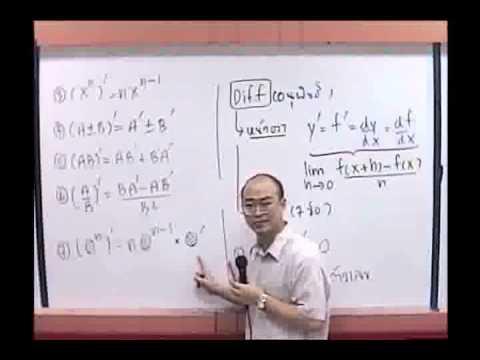 Calculus แคลคูลัส ม.6 [2-4] By www.tutoroui.com