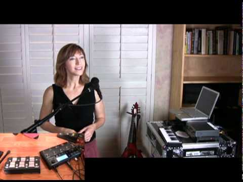 Wild Moon New York City, using a TC Helicon Voicelive 2 - Cover by Valerie Vigoda
