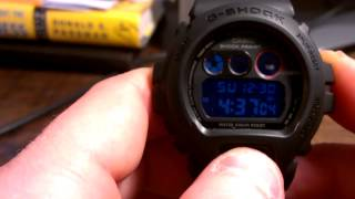 "DW6900MS-1 Black Military Series - Casio G-Shock Watch Review ""3230"""