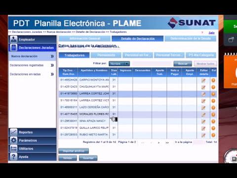 Plame - Archivos Planos I.avi