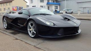 Ferrari La Ferrari: LOUD Start Up, Revs, Driving