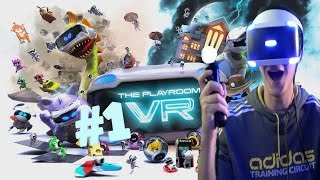 The Playroom VR (PSVR) Part 1 - Haunted House