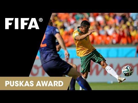 Tim Cahill Goal: FIFA Puskas Award 2014 Nominee