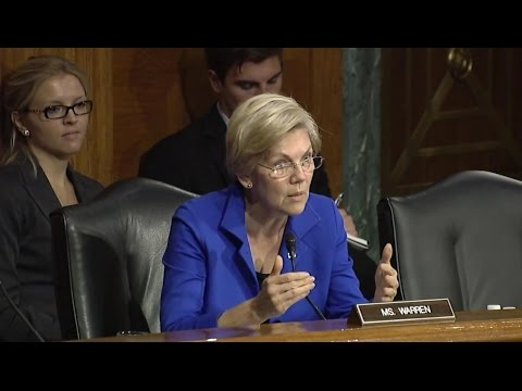 Elizabeth Warren Destroys Yellen Over JPMorgan's 'Living Will'