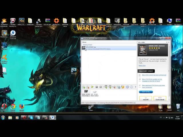 CZ Tutorial jak stahnout GTA IV na PC zdarma