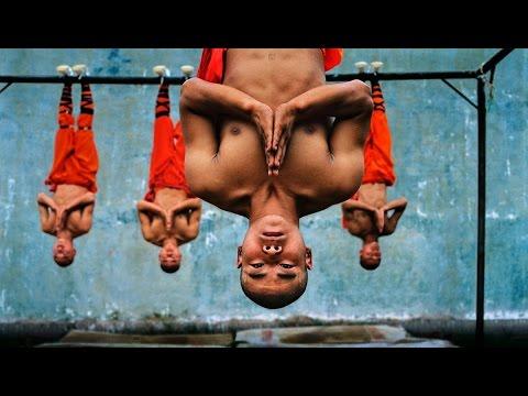 Как тренируются монахи «Шаолинь»