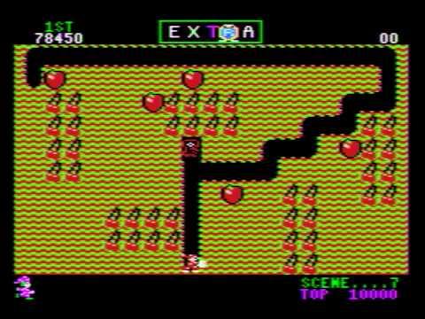 Atari XE Mr Do!