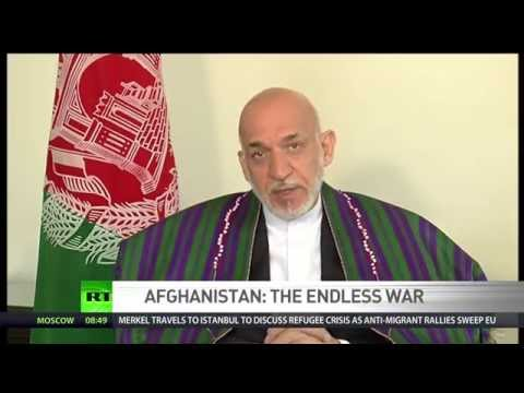 'US not interested in winning War on Terror' - Hamid Karzai