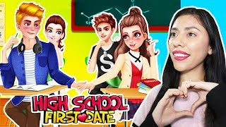 MY FIRST CRUSH! - HIGH SCHOOL FIRST DATE - ( App Game )