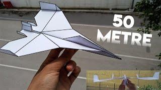 Dünyanın En Hızlı Kağıt Uçağı Nasıl Yapılır Uçak Yapımı Paper Flight Plane