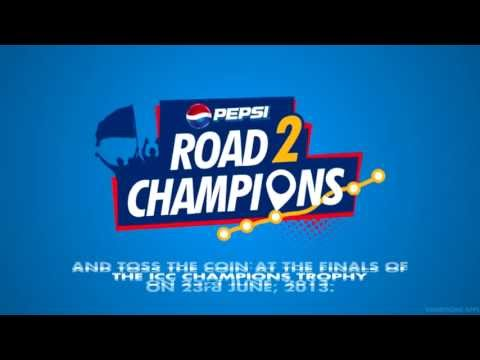 We are going on a long road to England! For cricket and its champions! Join us at http://r2c.pepsiohyesabhi.com/  #road2champions