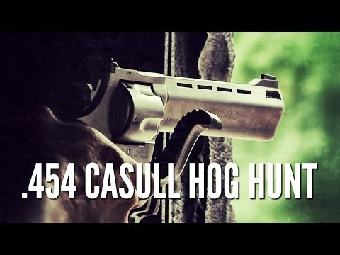 Hog Hunting with .454 Casull Taurus Raging Bull
