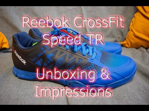Reebok CrossFit Speed TR UNBOXING & First Impressions!- Best CrossFit Shoes