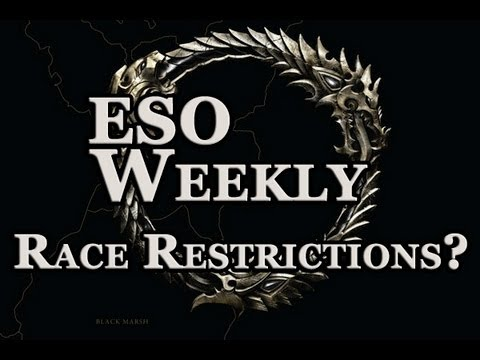 Elder Scrolls Online Weekly - Race Restrictions Hot Button Debate