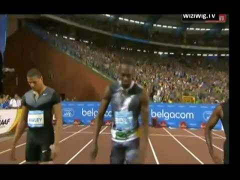 IAAF Diamond League Brussels men 100m