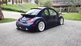 Bagged Beetle on vip's Vw bug Stanced sedan  ♛