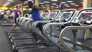 Best Dancer on Treadmill