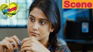 Sundeep Kishan And Regina Cassandra Argues With Each Other - Routine Love Story Movie Scenes